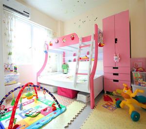 粉色儿童房装修效果图赏析
