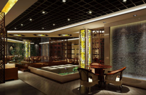 170平米茶楼设计