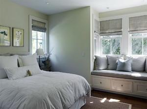 简约风格三居室飘窗装修效果图