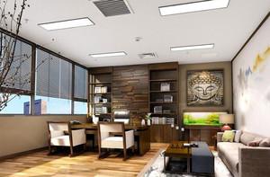 中式风格老板办公室装修案例