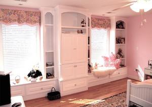 100平米卧室飘窗装修效果图