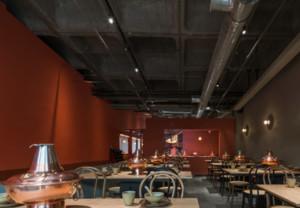 140平米火锅餐厅装修效果图