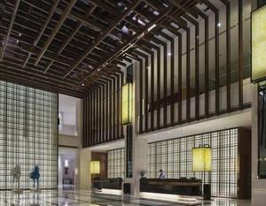 现代风格酒店大堂装修效果图