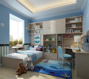 卡通多彩儿童房装修效果图
