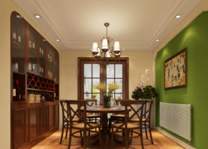 美式家装餐厅设计