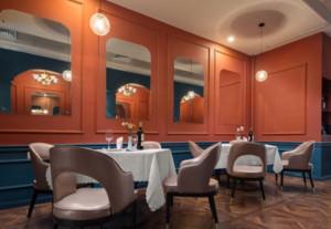 220平米西餐厅装修效果图