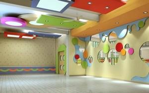 轻快风格幼儿园室内装修效果图赏析