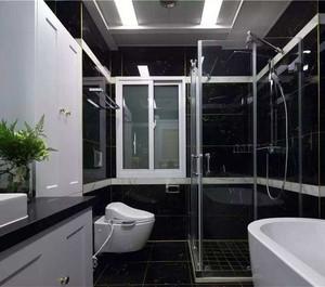 现代简约风格卫生间装修图