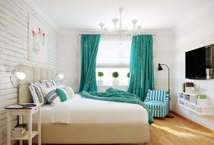 卧室无吊顶装修效果图