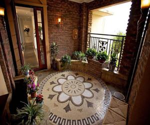 欧式风格入户花园装修效果图
