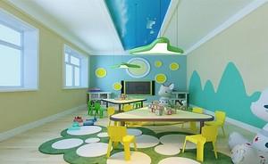 自然风格幼儿园室内装修效果图赏析