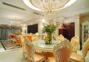 欧式风格餐厅设计图大全