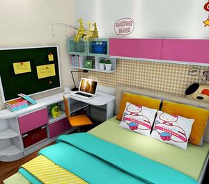 多彩个性儿童房装修效果图