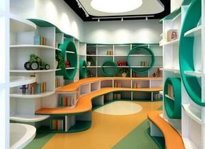 清新风格幼儿园室内装修效果图赏析