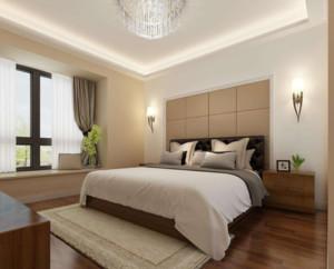 现代风格卧室背景墙装修效果图赏析