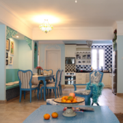 地中海风格餐厅设计