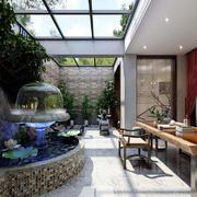 入户花园装修设计图片