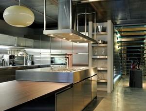 简约风格酒店厨房装修效果图赏析