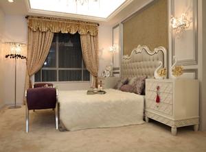 卧室床头背景墙设计效果图