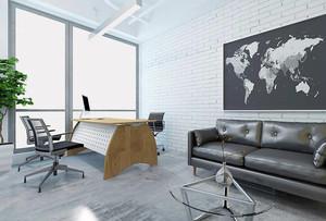 简约风格独立办公室装修设计图