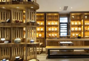 530平方茶楼装修设计