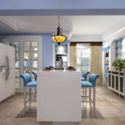 大户型地中海风格餐厅设计