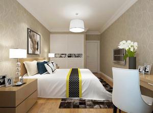 卧室地毯铺装效果图