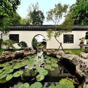 别墅中式花园设计