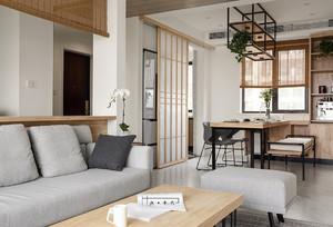 现代日式风格家庭餐厅吊顶装修设计