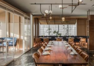 清新风格餐厅装修效果图