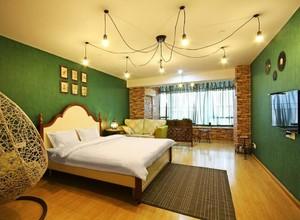 清新风格酒店公寓装修效果图