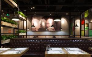 200平米工业风格餐厅设计
