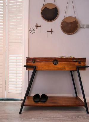 三居室北欧风格鞋柜装修效果图