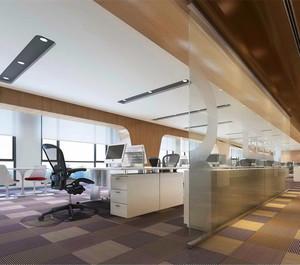 120平写字楼办公室装修图