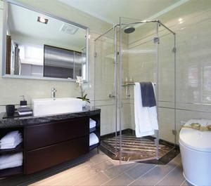 大户型现代简约风格卫生间装修图