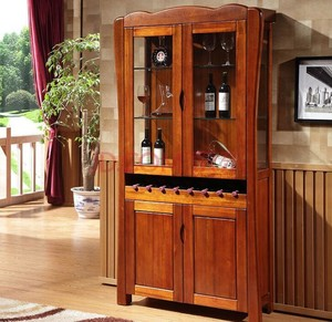 复古风格酒柜装修效果图赏析