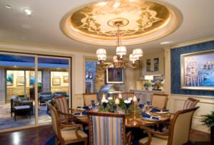 大户型美式餐厅设计图