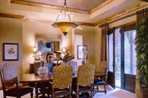 欧式风格家装餐厅设计