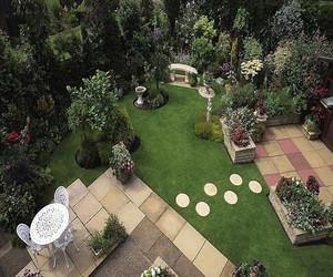 庭院花园设计的效果图