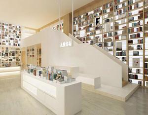 书店楼梯装修效果图