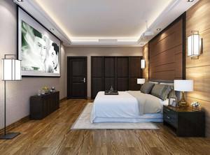 家庭卧室地面装修效果图
