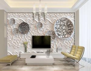 3d壁画电视背景墙效果图