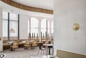 500平米餐厅设计装修效果图