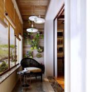 美式风格阳台装修设计效果图赏析