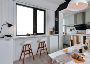 北欧风格小型吧台装修效果图