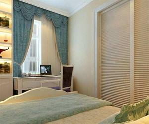 欧式卧室窗帘图片