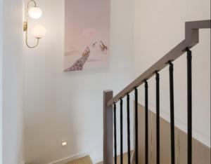 小复式北欧风楼梯设计效果图欣赏