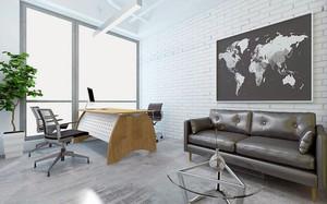 现代轻快办公室装修案例