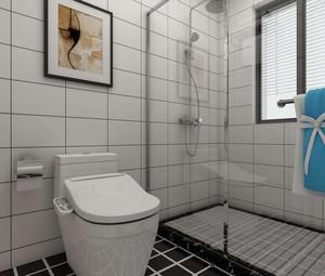 卫生间淋浴房移门装修效果图