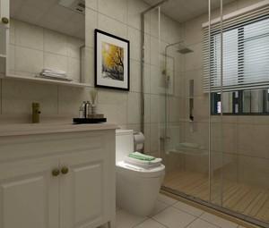 小户型现代卫生间装修效果图